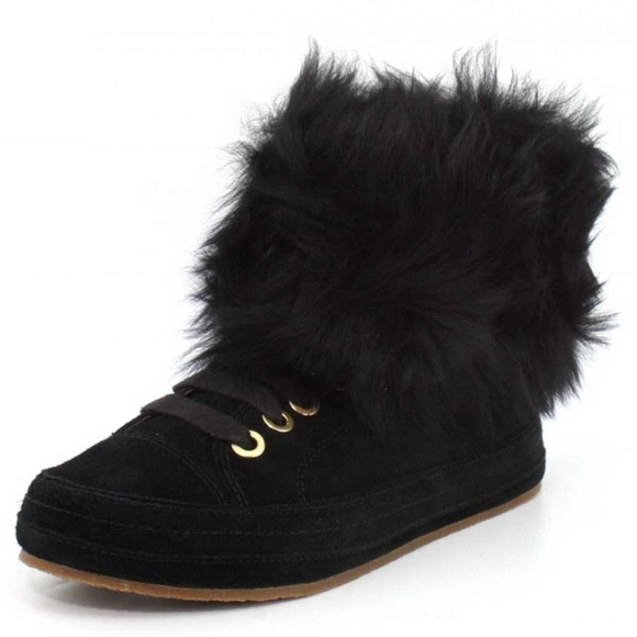 6574b1507a8 UGG Women's Antoine Fur Fashion Sneaker NWT